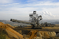 Germany, North Rhine-Westphalia, Grevenbroich, Garzweiler surface mine, Stacker - FR000097