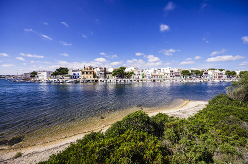 Spain, Mallorca, Porto Colom, View of harbour - THAF000862
