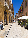 Italy, Sicily, Province of Trapani, Marsala, Old town, alley - AMF003189