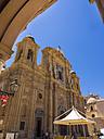 Italy, Sicily, Province of Trapani, Marsala, Old town, Cathedral San Tommaso di Canterbury, Piazza della Repubblica - AMF003192