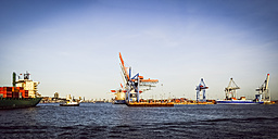 Germany, Hamburg, harbor - PU000277