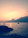 Italy, Brenzone sul Garda, Lake Garda - LVF002238