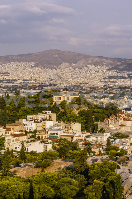 Greece, Athens, cityscape with observatory - THAF000873