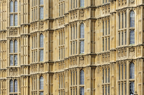 UK, London, detail of Palace of Westminster - MIZF000650