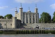 UK, London, Tower of London at River Thames - MIZF000703