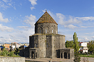 Turkey, Kars Province, Kars, view to Cathedral of Kars - SIEF006250