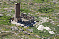 Turkey, Van Province, Van, view to old ruin of a mosque from above - SIEF006244