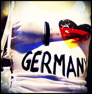 T-Shirt I Love Germany - HOHF001120