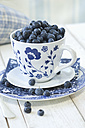 Cup of blueberries - ASF005490