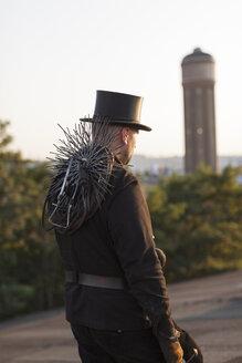 Germany, walking chimney sweep - HCF000085