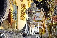 Brazil, Rio de Janeiro, Sambodromo, Carnaval, parade of samba school Academicos do Grande Rio - FLK000554