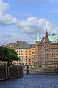 Germany, Hamburg, Speicherstadt with Zollkanal - MIZF000713