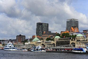 Germany, Hamburg, St. Pauli Landing Stages - MIZF000730