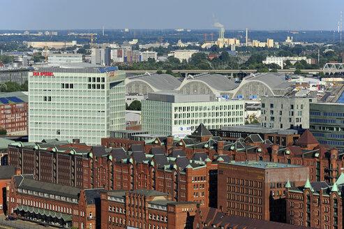 Germany, Hamburg, Speicherstadt and Hafencity - MIZ000751