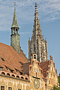 Germany, Baden-Wuerttemberg, Ulm, minster and town hall - SH001618
