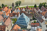 Germany, Baden-Wuerttemberg, Ulm, cityscape with library - SHF001626