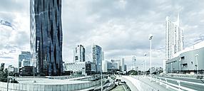 Austria, Vienna, Danube City, DC Tower 1 and Reichsbrucke - DISF001077