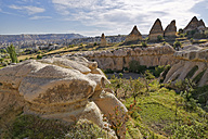 Turkey, Goereme National Park, tuff rock formations in Zemi valley - SIEF006274