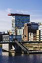 Germany, North Rhine-Westphalia, Duesseldorf, Media Harbour, Office buildings - THAF000949