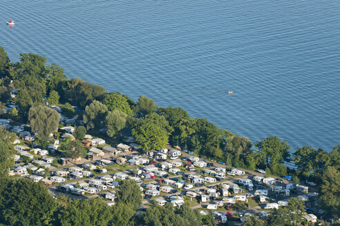Germany, Baden-Wuerttemberg, Lake Constance, Kressbronn, camping ground at lakeshore - SHF001673