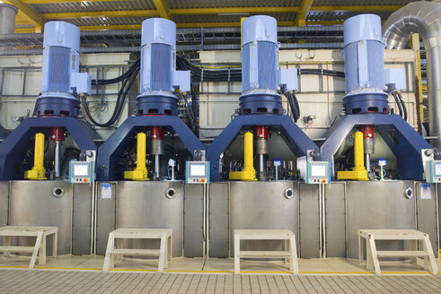 Centrifuges in a sugar mill - LYF000356