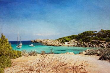 Spain, Majorca, Cala Molto, bay - DWIF000301