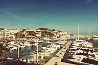Spain, Majorca, Cala Ratjada, marina - DWIF000298