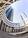 Germany, Hesse, Frankfurt, Frankfurt-Gallus, Tower 185, wide angle view - AM003322