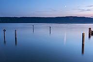 Germany, Baden-Wuerttemberg, Lake Constance, Sipplingen, Bodanrueck in the evening - SHF001808