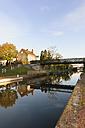 France, Burgundy, Digoin, canal bridge over River Loire - LAF001253