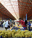 Turkey, Seferihisar, market hall - BFR000640