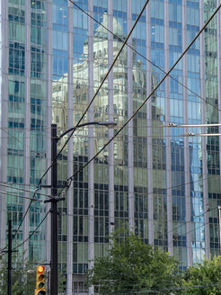 Canada, British Columbia, Vancouver, High-rise building, reflections - HLF000796