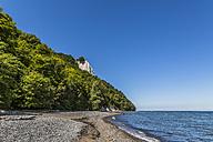 Germany, Mecklenburg-Western Pomerania, Ruegen, Jasmund National Park, Chalk coast, Koenigsstuhl - MABF000288
