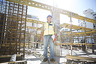 Construction worker on construction site - ZEF001623