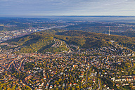 Germany, Baden-Wuerttemberg, aerial view of Stuttgart - WDF002768