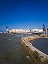 Morocco, Essaouira, Sqala de la Kasbah, sea wall of old town - AMF003405
