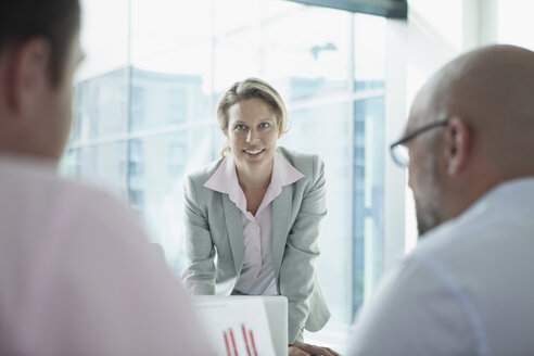 Business meeting in conference room - RBF002169