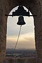 Spain, Baleares, Mallorca, bell tower of Fort Capdepera - DWIF000321