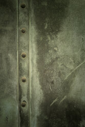 Weathered metal door, close-up - GUF000062