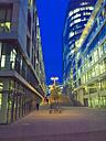 Germany, Stuttgart, office buildings at Pariser Platz - LAF001268