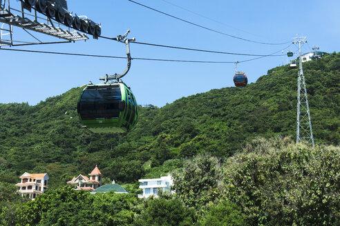 Vietnam, Vung Tau, cable car towards Big Mountain Tuong Ky - WE000314