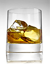 Glass of whiskey on ice - RAMF000028