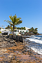Spain, Canary Islands, Lanzarote, Puerto Calero, fishing village at Playa Quemada - AMF003478