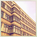 Germany, Berlin, art deco facade - MSF004406