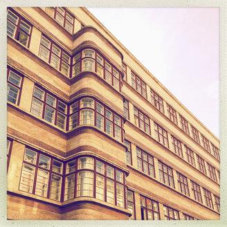 Germany, Berlin, art deco facade - MSF004406