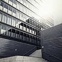 Germany, Cologne, architecture of modern office buildings in the city - MS004413
