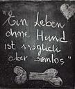 Blackboard with writing - DWI000341