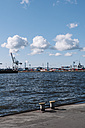 Germany, Hamburg, view to container harbour - DWF000235