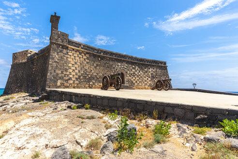 Spain, Lanzarote, Arrecife, Castillo de San Gabriel - AMF003539