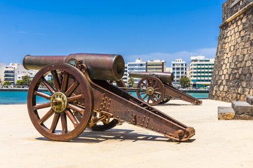 Spain, Lanzarote, Arrecife, Castillo de San Gabriel - AMF003541